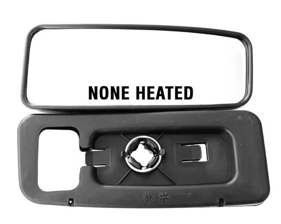 Mercedes Sprinter Mirror Lower Glass Small Blind Spot None Heated Right Passenger Side 2007 To 2016