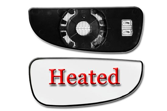 Dodge Ram Promaster 1500 Wing Mirror Small Glass Lower Blind Spot Heated Right Passenger Side 2014 To 2015