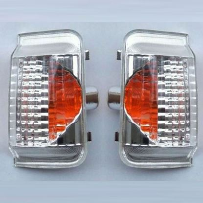 Dodge Ram ProMaster Mirror Side Indicator Orange Lens Left Driver & Right Passenger Side 2014 To 2015