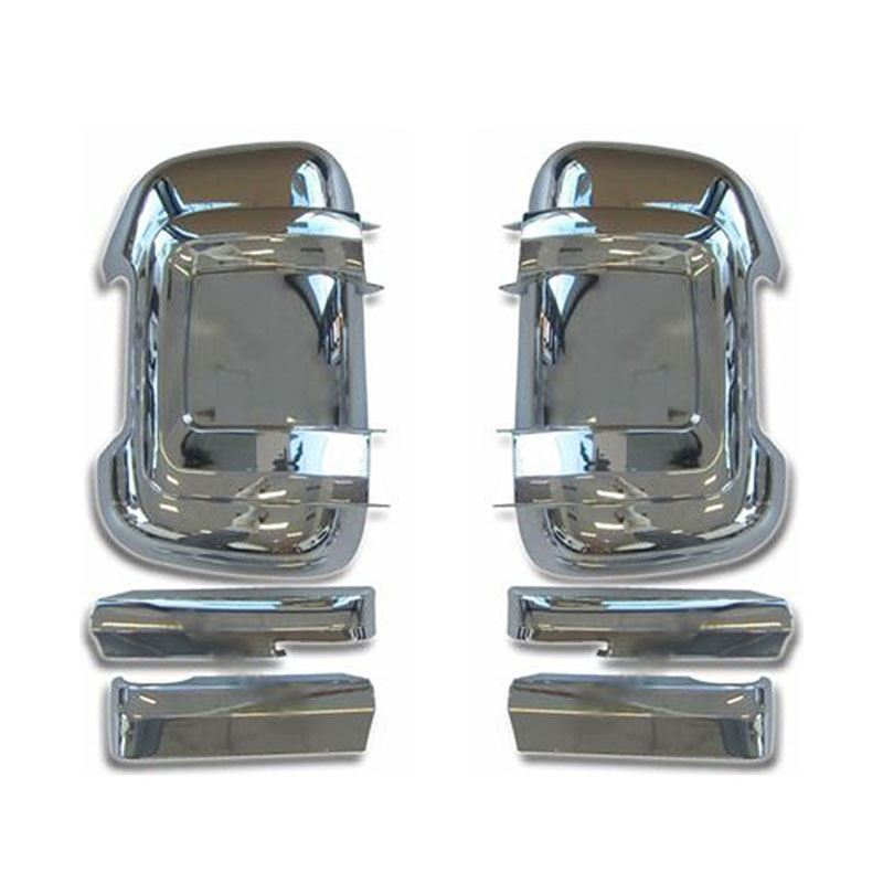 GHXSport Full Chrome Door Side Mirror Cover for 2009-2015 Dodge ...
