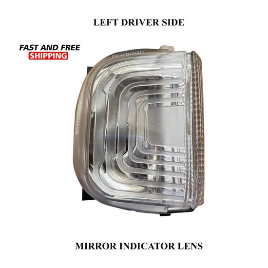 Mercedes Sprinter Mirror Indicator White Lens CLear Left Driver Side 2019 To 2020