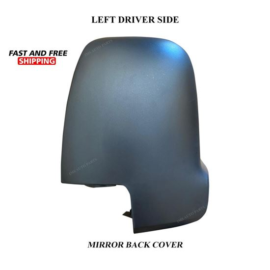 Mercedes Sprinter Mirror Casing Cover Black Left Driver Side 2019 To 2020