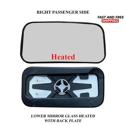 Mercedes Sprinter Lower Small Glass Mirror Heated Right Passenger Side 2019 To 2020