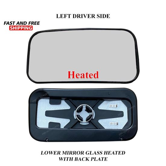 Mercedes Sprinter Lower Small Glass Mirror Heated Left Driver Side 2019 To 2020