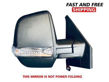 Picture of Ram ProMaster City Wagon Manual Mirror With Twins Glasses Right Passenger Side 2015 To 2019